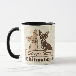 Caneca Design dos proprietários das chihuahuas