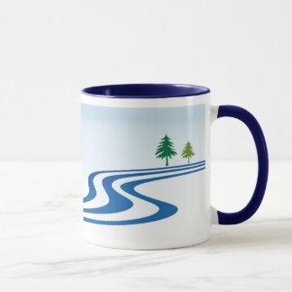 Caneca Design preguiçoso do rio