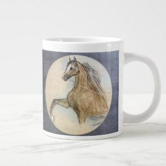 Caneca deslizante alta do cavalo