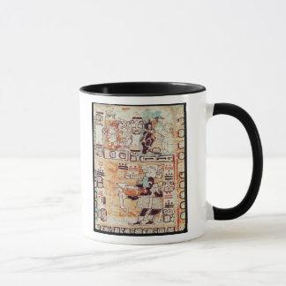 Caneca Detalhe de um códice maia