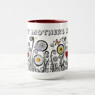 Caneca Dia das mães feliz!