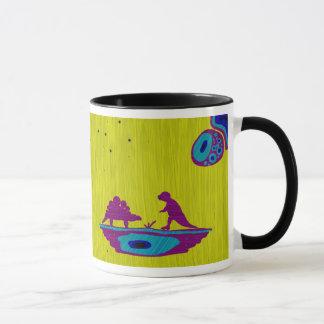 Caneca Dinossauros e rato