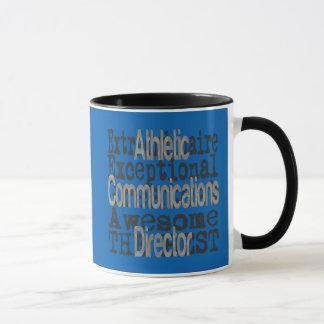 Caneca Diretor atlético Extraordinaire das comunicações