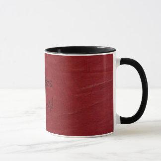 Caneca Divertimento ocidental! Copo de café de couro