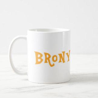 Caneca do amante de Brony - laranja