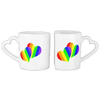 Caneca do amante do arco-íris