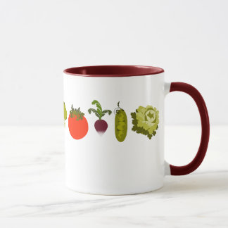 Caneca do amante do vegetariano