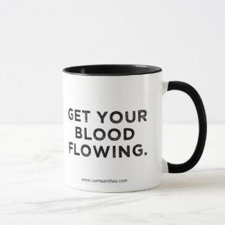 Caneca do amaranto do café