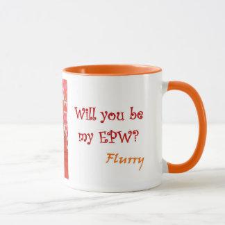 Caneca do amor de filhote de cachorro do EPW da