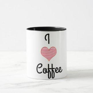 Caneca do amor do café do divertimento