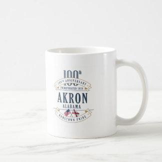 Caneca do aniversário de Akron, Alabama 100th