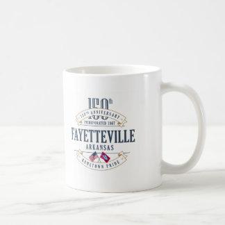 Caneca do aniversário de Fayetteville, Arkansas