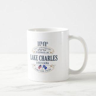 Caneca do aniversário de Lake Charles, Louisiana