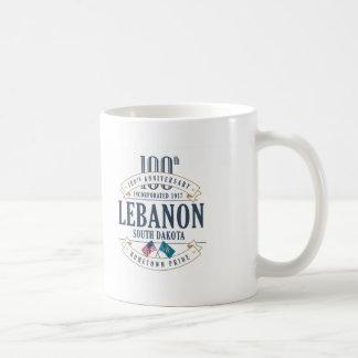 Caneca do aniversário de Líbano, South Dakota