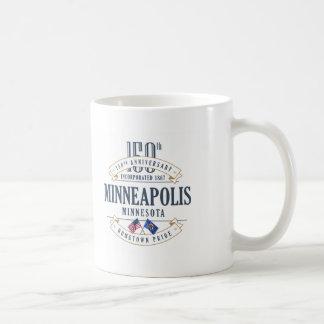 Caneca do aniversário de Minneapolis, Minnesota