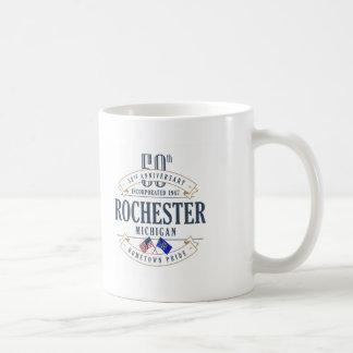 Caneca do aniversário de Rochester, Michigan 50th