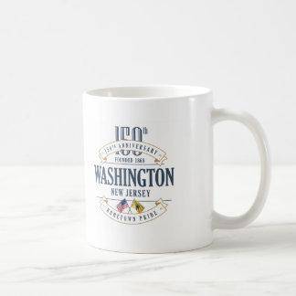 Caneca do aniversário de Washington, New-jersey