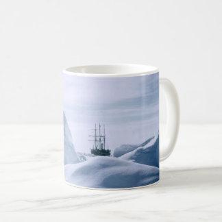 Caneca do Antarctic da resistência de Shackleton