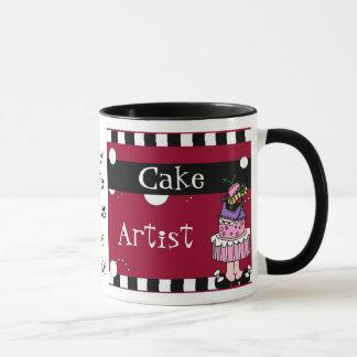 Caneca do artista do bolo