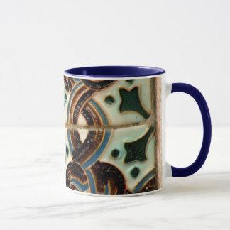 Caneca do azulejo do Moorish