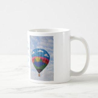 Caneca do balão de ar quente