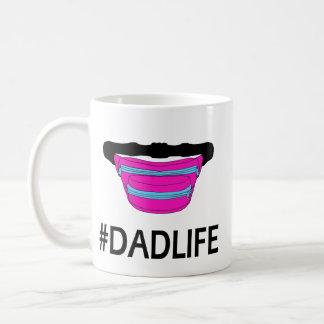 Caneca do bloco de Dadlife Fanny