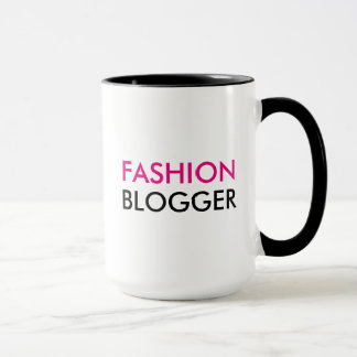 Caneca do Blogger da forma