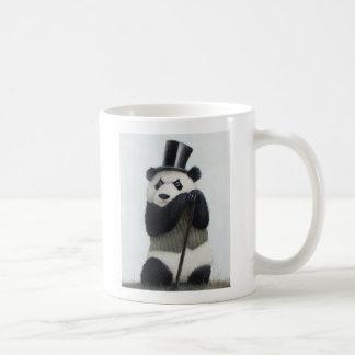 Caneca do branco da panda 11oz de Percival