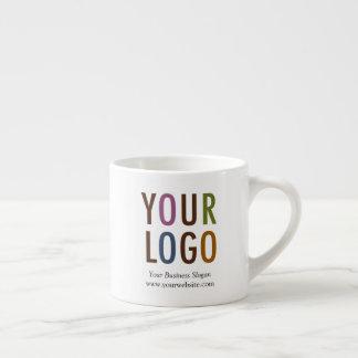 Caneca do café com logotipo da empresa 6 onças