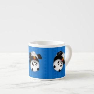 Caneca do café da panda do rolamento