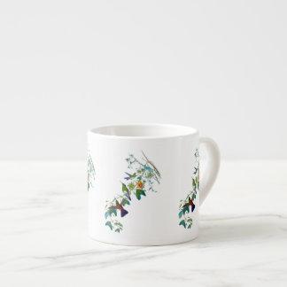 Caneca do café da videira da paixão do colibri
