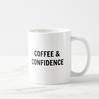 Caneca do café & de café da confiança