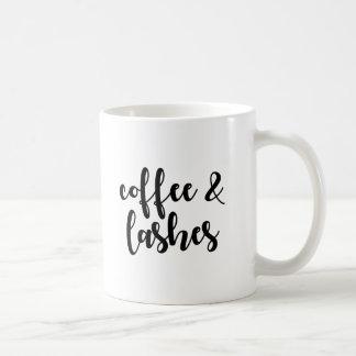 Caneca do café & de café dos chicotes