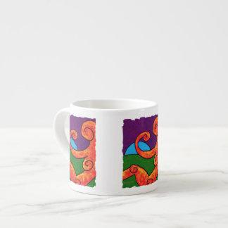 Caneca do café do abstrato 1-6-10 caneca de café