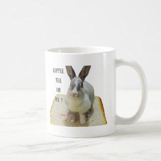 Caneca do café, do chá ou do coelho