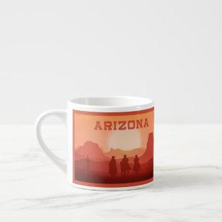Caneca do café do por do sol da arizona