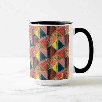 Caneca do café ou do chá com letra inicial J do