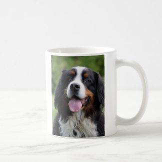 Caneca do cão de montanha de Bernese, ideia do