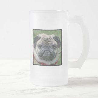 Caneca do cão do Pug
