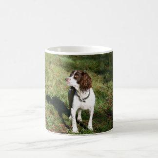 Caneca do cão do Spaniel de Springer