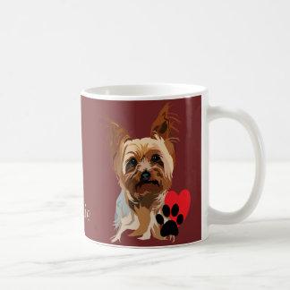 Caneca do cão: É um Yorkie