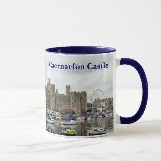 Caneca do castelo de Caernarfon