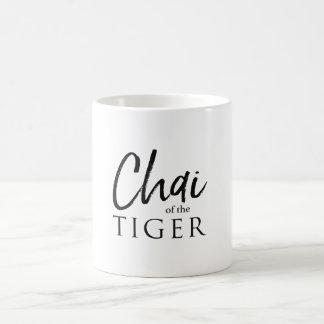 Caneca do chá - Chai do tigre
