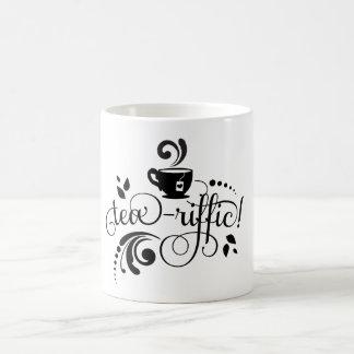 Caneca do chá com o Chá-Riffic do provérbio