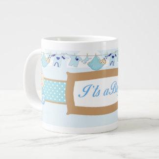 Caneca do chá de fraldas