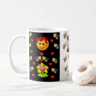 caneca do chá do café do zangão