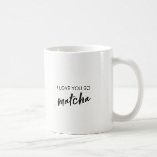 Caneca do chá ou de café das citações de Matcha