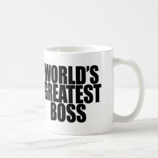 Caneca do chefe do mundo a grande