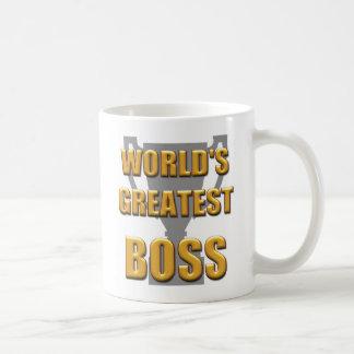 Caneca do chefe do mundo a grande. Excelente para