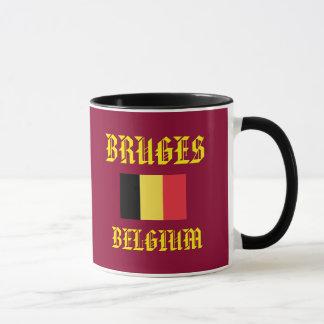 Caneca do clássico de Bruges Bélgica